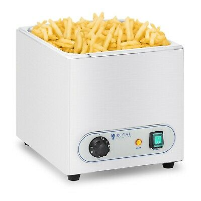 Chip Warmer Professional Crisps Fries Warmer Gastro Chips Snack Heating Machine