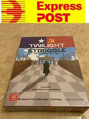 Nice Board Game, Twilight Struggle Deluxe Edition, AU Stock, Express Post