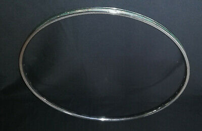 1 X Rigida SUPERCHROMIX  700C x 28  rim 36H steel chrome vintage Stamped 1990