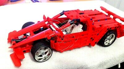 LEGO TECHNIC MOC Mini Super Car V10 Gullwing Doors CUSTOM Model LDD  Instructions