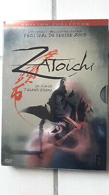 DVD ZATOICHI un film de TAKESHI KITANO en édition collector