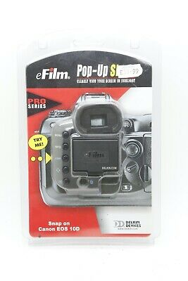 Delkin Pop Up Shade Pro for Canon EOS 10D (BNIP)
