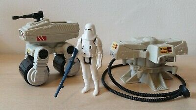 Rare Star Wars Hoth Collection - MTV-7, Maintenance Energizer & Snowtrooper