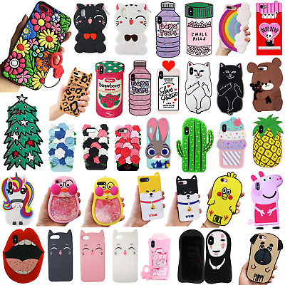 Funny Phone Cases For Apple iPhone X/8/7/6/6S Plus Phones Accessories Cat Love
