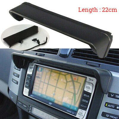 Dash Hood Mask GPS Anti-glare Navigation 22*5cm Car Black Universal Radio New