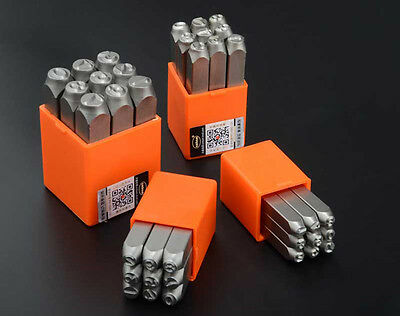 9PC Steel Number Stamps Punch Dies Set Select Size [DORL_A]