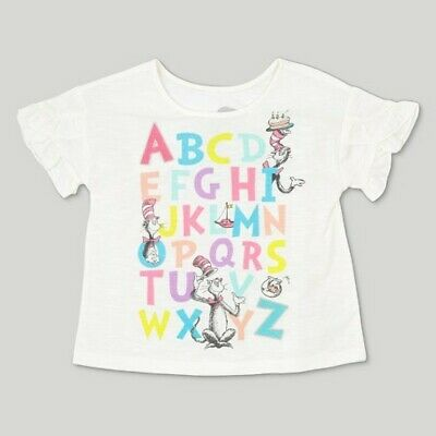 426bb786 TODDLER GIRLS' DR. Seuss Cat in the Hat ABC Short Sleeve T-Shirt ...