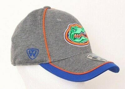 best authentic 1a77f 4fce4 NEW University of Florida Gators Gray TOW Cap One-Fit Stretch Baseball Hat  M