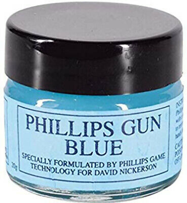 brunitore a freddo per armi e metalli gel phillips 20g brunitura gun blue