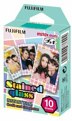 Fuji Instax Mini Films Stained Glass Instant Film - 10 Exposures