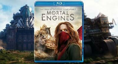 Mortal Engines(2018) BLU-RAY ONLY!!! FAST SHIPPING!!!