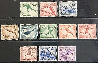 Germany Third Reich 1935-1936 Olympics issues MLH