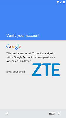 FRP for ALL ZTE Phones (Google Lock Bypass-Removal) Remote Service