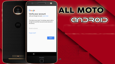FRP for ALL Motorola or Lenovo model (Google Lock Bypass-Removal) Remote Service