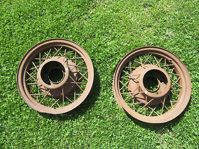 """1935 FORD Wire Wheels 17"""" X 3 1/4"""" 1932 1933 1934 Hot Rat Rod"""