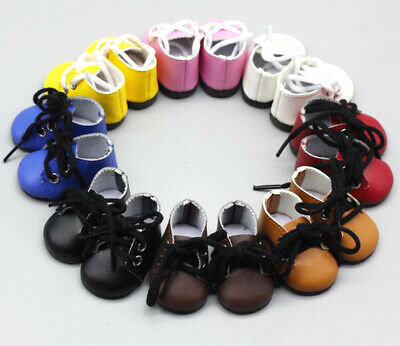 Handmade Kpop EXO BTS Doll Clothes Shoes Plush Doll's Leather Boots 20cm