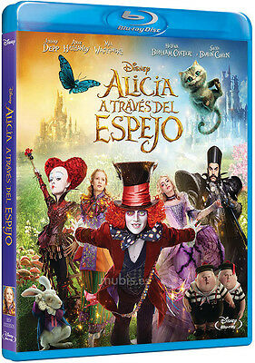Alice Through the Looking Glass, Blu Ray 3D+2D (2 discs)