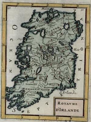 Ireland country island 1683 Mallet interesting variant state map Bonar-Law #17
