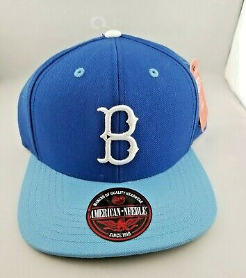 7f85b9e38 AMERICAN NEEDLE BROOKLYN Dodgers Vintage Style 1939 Era Cooperstown ...