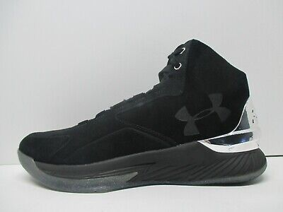 0b177cc41a68 NEW - Under Armour Curry 1 Lux Mid Suede Basketball Shoes - 1296617 001 - Sz