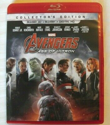 Avengers: Age of Ultron - Disney / Marvel (3D Blu-ray) 2D + Digital not incl.