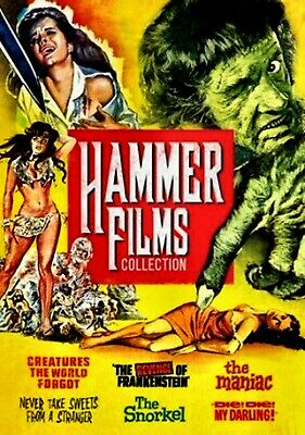 New  2Dvd - Hammer  6 Horror Collection - Christopher Lee , Peter Cushing