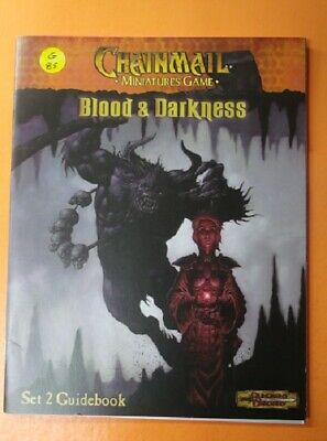 G85) Chainmail Game  Blood & Darkness Guidebook Dungeons & Dragons