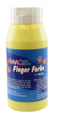 NOVACOL - FingerFarbe 750ml - gelb