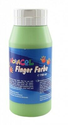 NOVACOL - FingerFarbe 750ml - grün