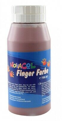 NOVACOL - FingerFarbe 750ml - braun
