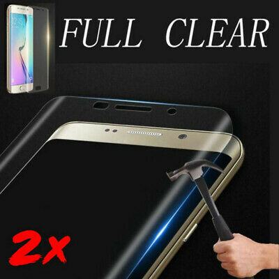 For Samsung Galaxy S9/S8/+Plus 6D Full Tempered Glass Screen Protector 2PCS