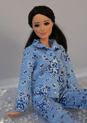 Hooded Coat and Leggings for Dolls. №007 Clothes for Curvy Barbie Doll