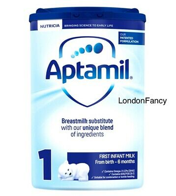 Aptamil 1 First Baby Milk Formula From Birth 800g.