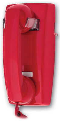 2554-47-ND No Dial Wall Mountable Red Telephone For Business EMERGENCY PHONE