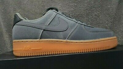 uk availability fef75 6be88 Nike Air Force 1  07 LV8 Style Flat Pewter Gum Medium Brown AQ0117 001