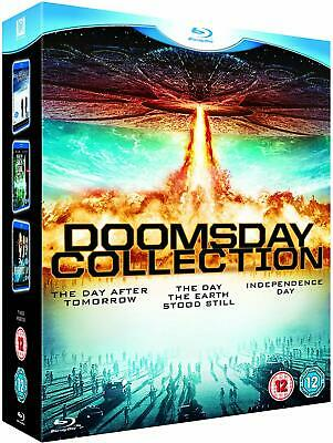 The Day After Tomorrow + The Day The Earth Stood Still Independence Day Blu Ray