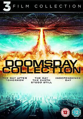 Day The Earth Stood Still + Day After Tomorrow + Independence Day Dvd Region 2