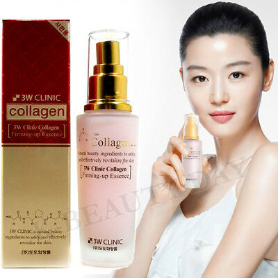 3W CLINIC Collagen Firming Up Essence 50ml Anti-Aging Treatment Intensive Serum