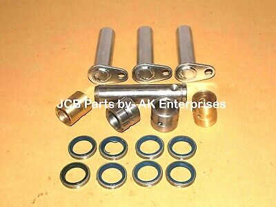 Steering Assembly Pins And Bushes W. Seals (Assorted Part No.s) Jcb Parts New