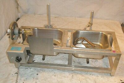 Buchler Instruments Flash Evaporator Unit w Lab Stands Clamps & 2 Stainless Tray