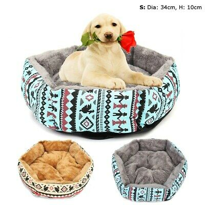 Pet Dog Cat Bed Soft Puppy Cushion House Warm Kennel Dog Mat Pad Blanket S Size