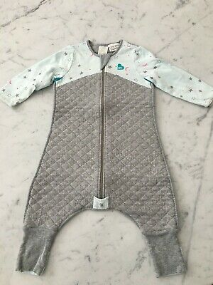 Love to dream sleep suit grey/mint 12-24mts awesome product grt condition 2.5tog