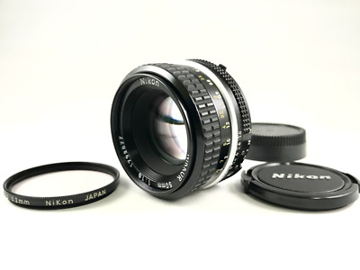 [Excellent+++++] NIKON Ai NIKKOR 50mm F1.8 MF Lens from Japan #0904a