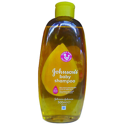 Johnson's Baby Shampoo No More Tears, Triple Baby Protection, 500 ml
