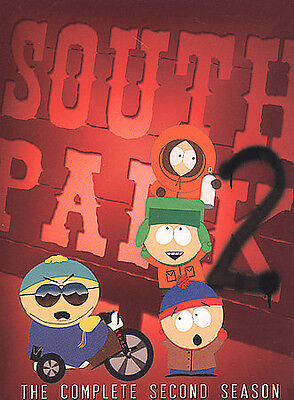 South Park DVD Complete Season 2 Sealed new