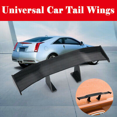 Universal Car Rear Tail Wing GT Carbon Spoiler Mini Auto Usable Simple