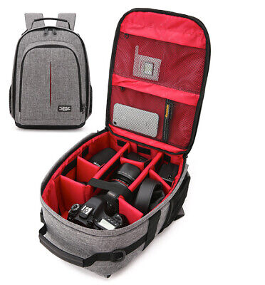 Large Camera Backpack Bag for Canon Nikon Sony DSLR & Mirrorless by  Photo