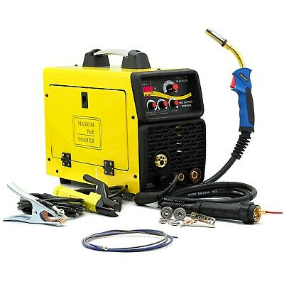 Welder Inverter 200A MAGNUM MIG 212 PULSE SYNERGY SEMI-AUTOMATIC ALUMINUM