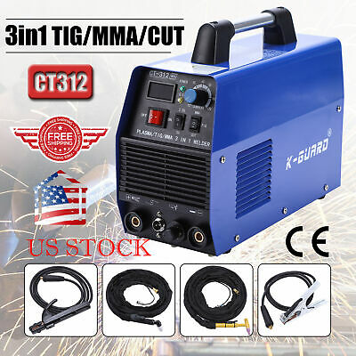3 In 1 Multi Plasma Cutter TIG MMA Welder Cutting Welding Machine  CT-312
