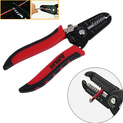 Automatic Cable Wire Crimper Crimping Tool Stripper Adjustable Plier Cutter BES